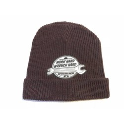 Work Hard  Docker Hat Purple