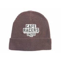 Bonnet Docker Café Racer pourpre