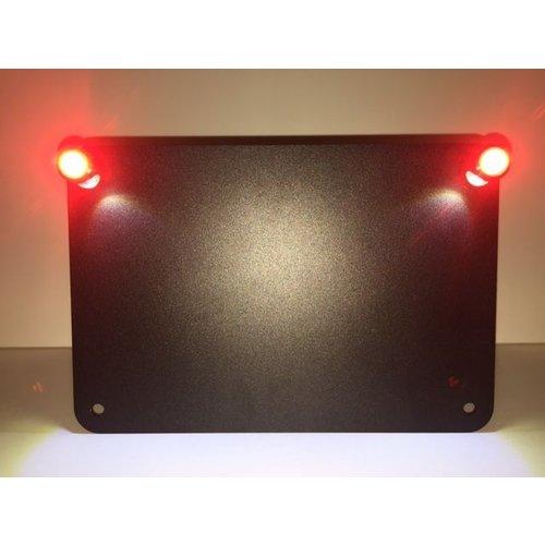 LED kentekenplaatverlichting met achterlicht