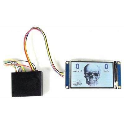 My speedo, LCD touchscreen spedometer