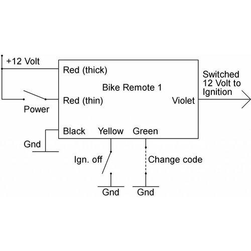 Axel Joost Elektronik Fahrradfernbedienung 1 - Bluetooth-Switch-Modul