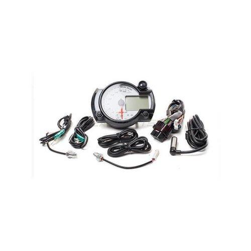 KOSO GP Style Tacho RX2N + / weiß / 20000 U / min