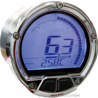 KOSO (max 20000 RPM) D55 DL-02R Toerenteller/Thermometer LCD Display