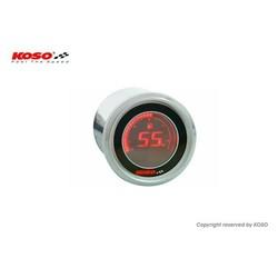 D48 Benzine Meter (Zwart LCD - Rood)