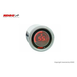D48 Volt Meter (Zwart LCD - Rood)