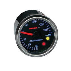 (max 15000 RPM) GP Style D48 Tachometer, Black