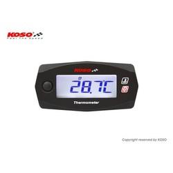 Dubbele Thermometer Mini 4 (Batterij) tot wel 250°