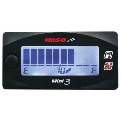 KOSO Mini 3 - Kraftstoffzähler