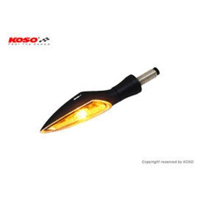 KOSO LED-Blinker Satz - Stinger Helder / Schwarz