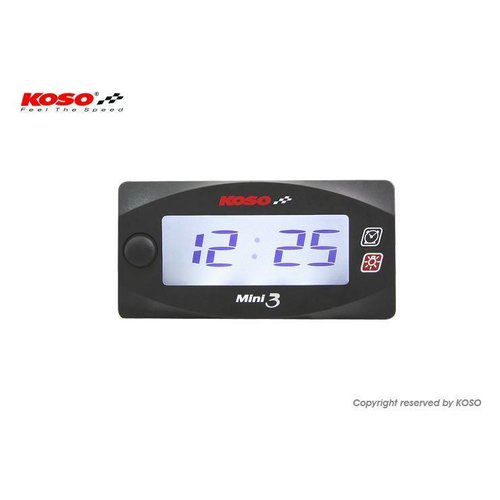 KOSO Clock Mini 3 met backlight