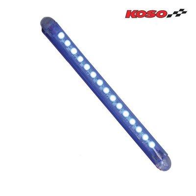 KOSO LED BAR 114mm BLAU