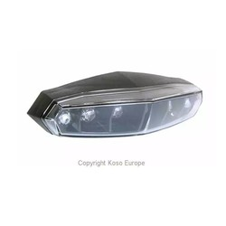 LED-achterlicht Mini (rooklens)