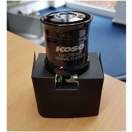 KOSO Flasher relay (digital) 12V, 3 connectors, max 15A