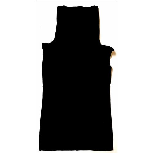 Fleece Col schwarz