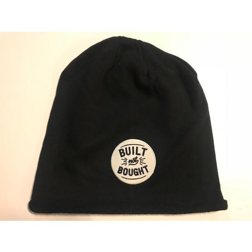 MCU Built not bought Beanie Zwart