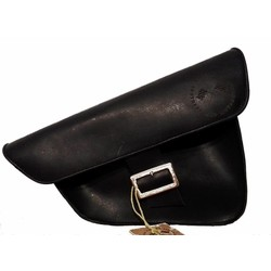 Saddle Bag / Scrambler Bag Black
