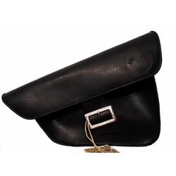 Satteltasche / Scrambler Tasche Schwarz