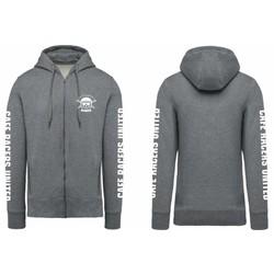 Predator Zip Hoodie Grey