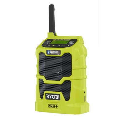 Ryobi ONE + Bluetooth Lautsprecher Radio R18R-0 *Body Only*
