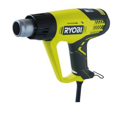 Ryobi Heteluchtpistool 2000W LCD Warmte-indicator EHG2020LCD