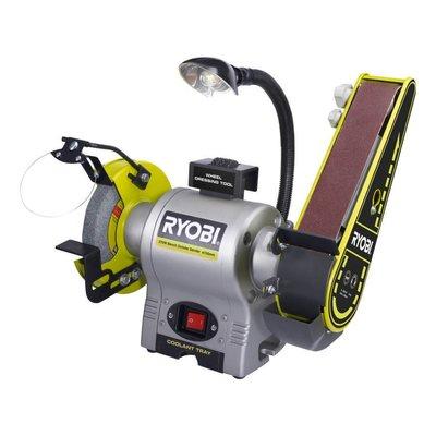 Ryobi 370W Zwei-in-Eins-Schleif- und Schleifmaschine RBGL650G