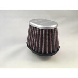 Filtre ovale avec sommet en aluminium 54MM XVO-5400