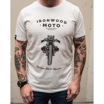 Ironwood Motorcycles Keep On Riding White - T-shirt