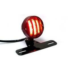Zwart aluminium Prison Tail light LED met beugel