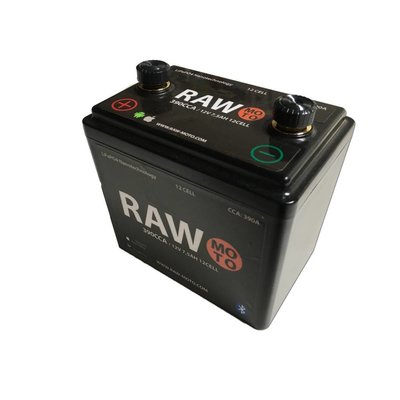Raw Moto 390CCA SMART Bluetooth Lithium Battery #3