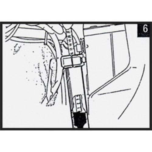 Hagon BMW R 100 GS Paris Dakar (Paralever achter) 88-96 Gabelfedern Satz