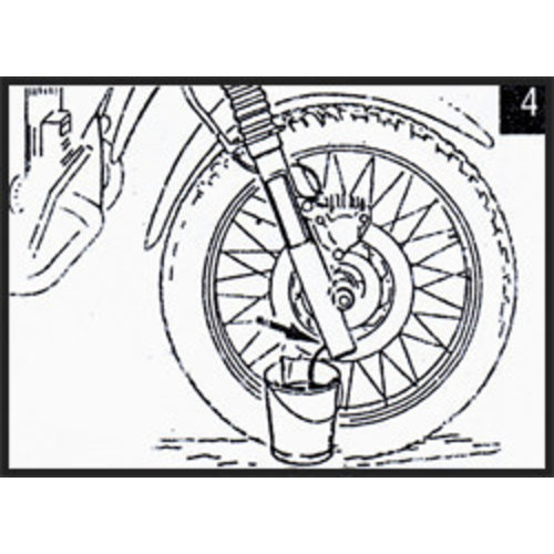 Hagon Honda CBF 500 04> Gabelfedern Satz