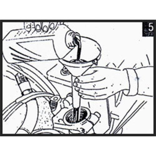 Hagon Honda NT 650 V Deauville 98-02 Gabelfedern Satz