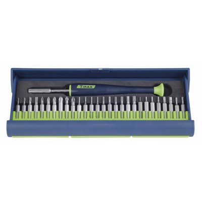 Tirax precision bit set 29-piece