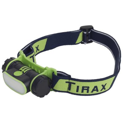 Tirax LED headlamp rechargeable 150 lumen