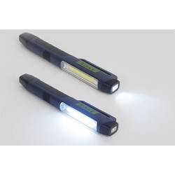 LED flashlight with magnet