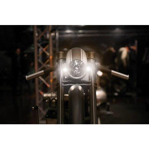 Kellermann LED Positionsleuchte Bullet Atto WL Chrom vorne