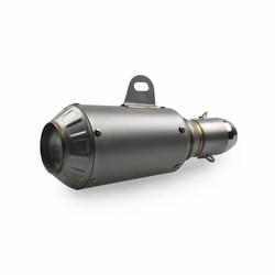 "Stainless Steel GP Muffler ""Hypermotard"""
