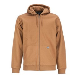 Kingsley Zip Hoodie - Brown Duck