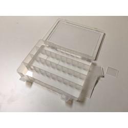 Boîte de rangement transparente 250 x 185 x 40 MM