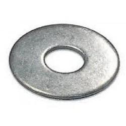 M6 x 18 Carrosserie ring Metaal - 10 stuks