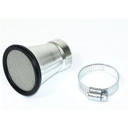 Trompette d'admission en aluminium 50MM
