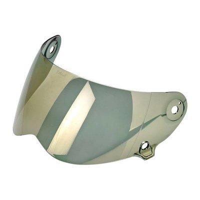 Biltwell Lane Splitter Anti Fog Visor Mirror Gold