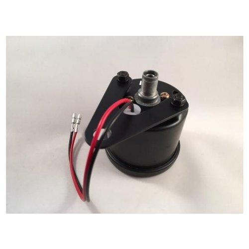 1:4 Mechanischer Drehzahlmesser Schwarz