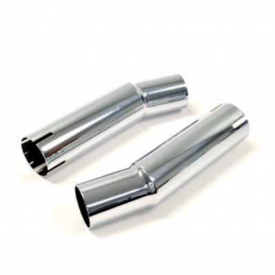 Emgo Pair of Chrome connector pipe price per piece