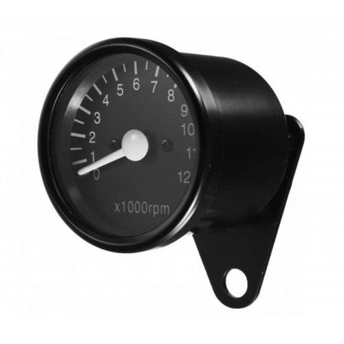 12.000 RPM Tachometer Schwarz - Mechanisch K 1: 7