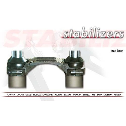 Tarozzi Fork Brace / Stabilisator Kawasaki KLR 650 1987 (23-0048)
