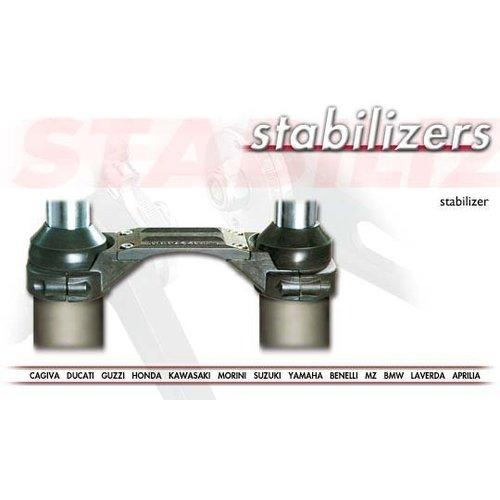 Tarozzi Fork Brace / Stabilisator Kawasaki KLR 250 1986 (23-0046)
