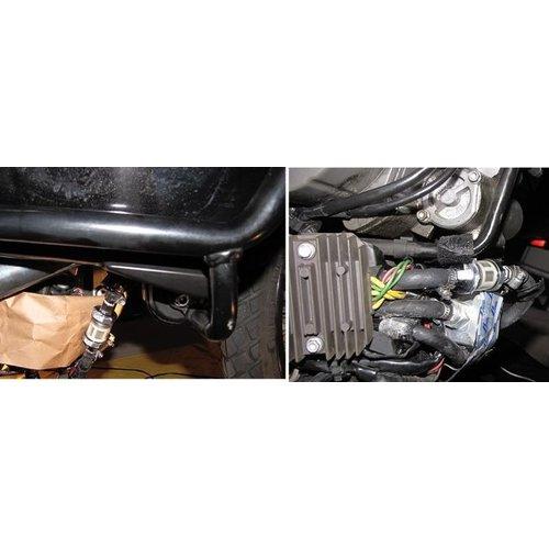 6MM Hochwertiger Benzinfilter aus Aluminium-Guss