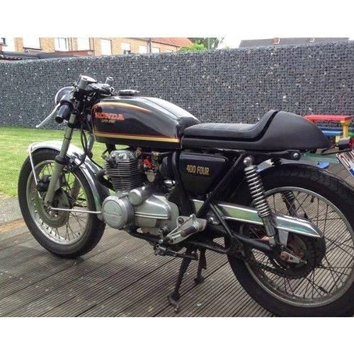C.Racer Cafe Racer Sitzbank Tuck N' Roll Stitch Black type 35