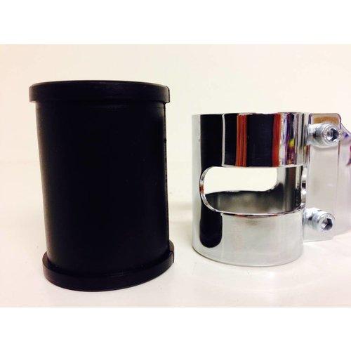 Shin Yo 53 - 57MM Lampenhalter mit Vibrationsgummi Verchromt
